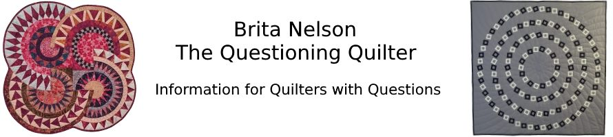 The Questioning Quilter