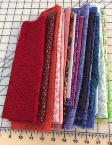 Short Lengths of fabric
