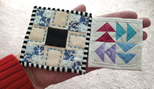 mini mini quilt swap