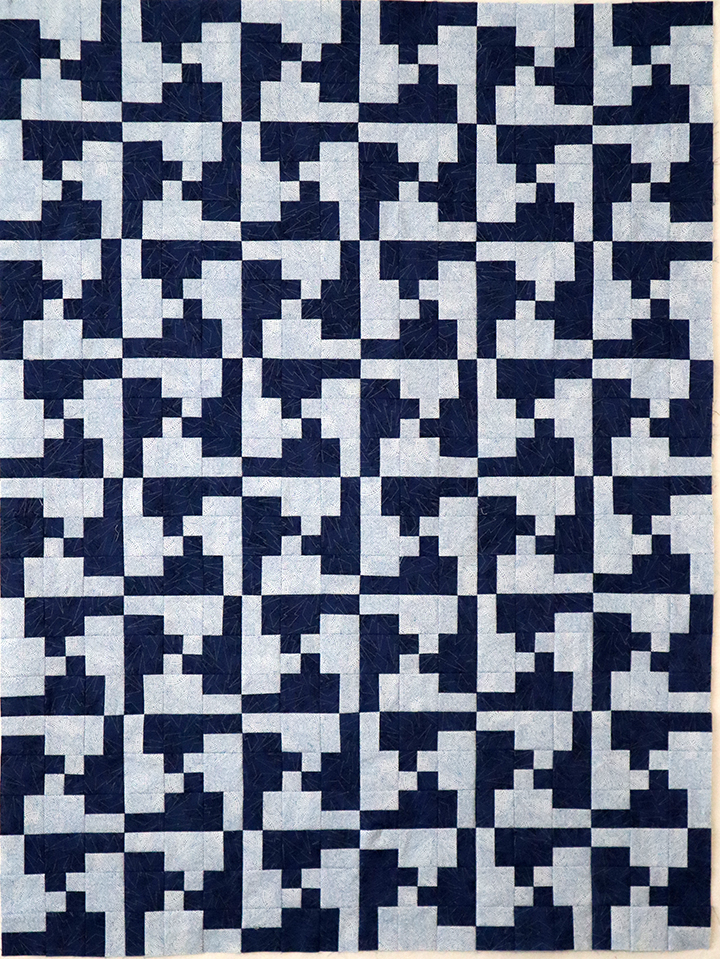 Disappearing 4-Patch Socket Wrench Quilt
